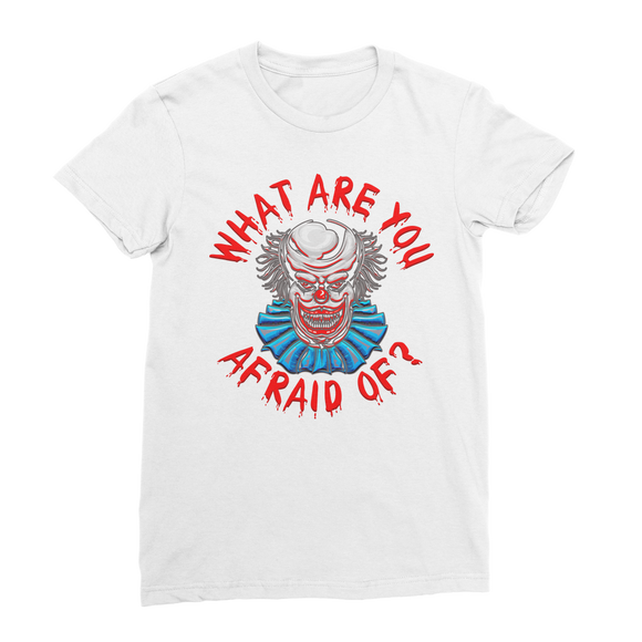 What Are You Afraid of Retro 4 Classic Women's T-Shirt - Lone Space Ranger