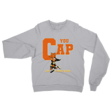You Cap Shattered Backboard Retro 1 Classic Adult Sweatshirt - Lone Space Ranger