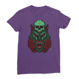 Skull, Wolf and Roses Classic Women's T-Shirt - Lone Space Ranger