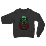 Skull, Wolf and Roses Classic Adult Sweatshirt - Lone Space Ranger