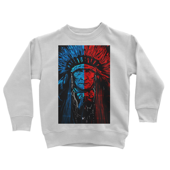 Indian Chief Classic Kids Sweatshirt - Lone Space Ranger