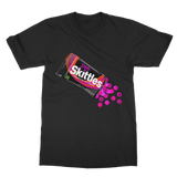 Dirty Skittles Retro 7 (Black) Classic Adult T-Shirt - Lone Space Ranger
