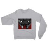 Copy of Snake Head Retro 1 (Gray) Classic Adult Sweatshirt - Lone Space Ranger