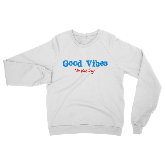 Good Vibes Retro 4 Classic Adult Sweatshirt - Lone Space Ranger