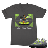 LSR Diner Ret 4 Neon Classic Adult T-Shirt - Lone Space Ranger