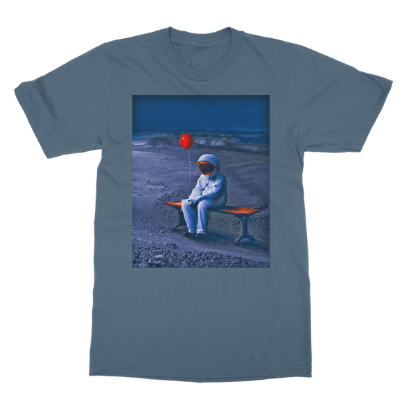 Lone Astronaut Classic Adult T-Shirt - Lone Space Ranger