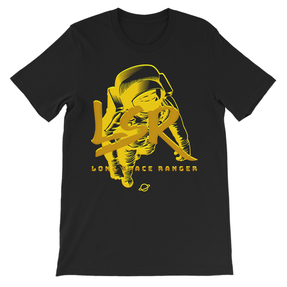 LSR University Gold Classic Kids T-Shirt - Lone Space Ranger