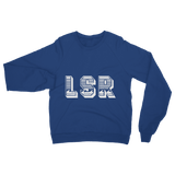 LSR Wave White Classic Adult Sweatshirt - Lone Space Ranger