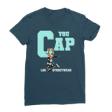 You Cap Island Green Retro 13 Classic Women's T-Shirt - Lone Space Ranger
