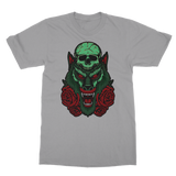 Skull, Wolf and Roses Classic Adult T-Shirt - Lone Space Ranger