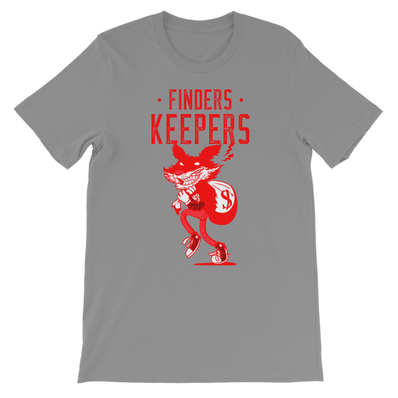 Finders Keepers Ret 1 Classic Kids T-Shirt - Lone Space Ranger