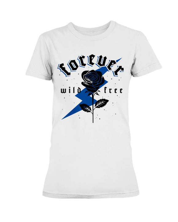 Women's Forever Wild Free Retro 12 Royal - Lone Space Ranger