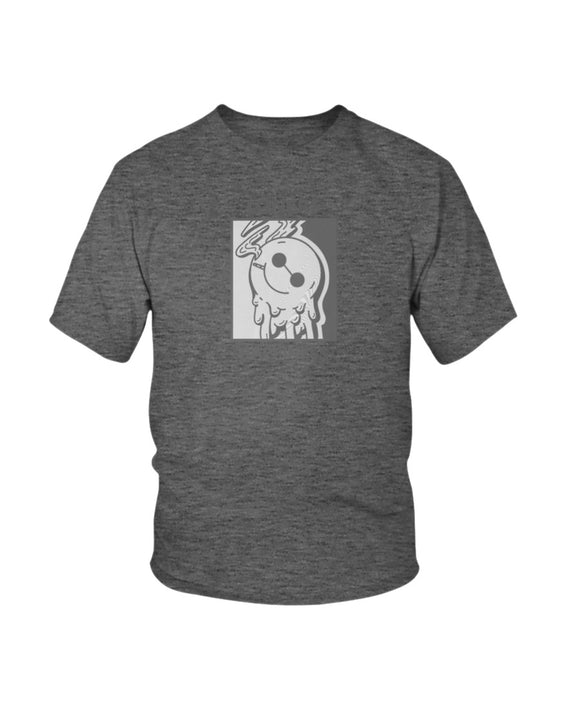 Kid's Loner Happiness Retro 12 Gray - Lone Space Ranger