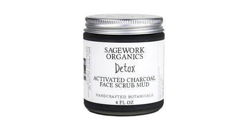 Activated Charcoal Mud Scrub 4oz 6 count