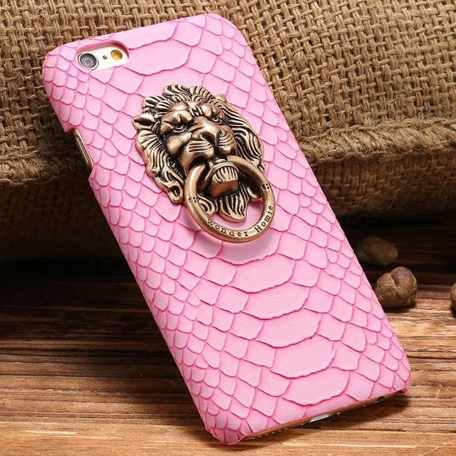 Lion Ring Case For iPhone