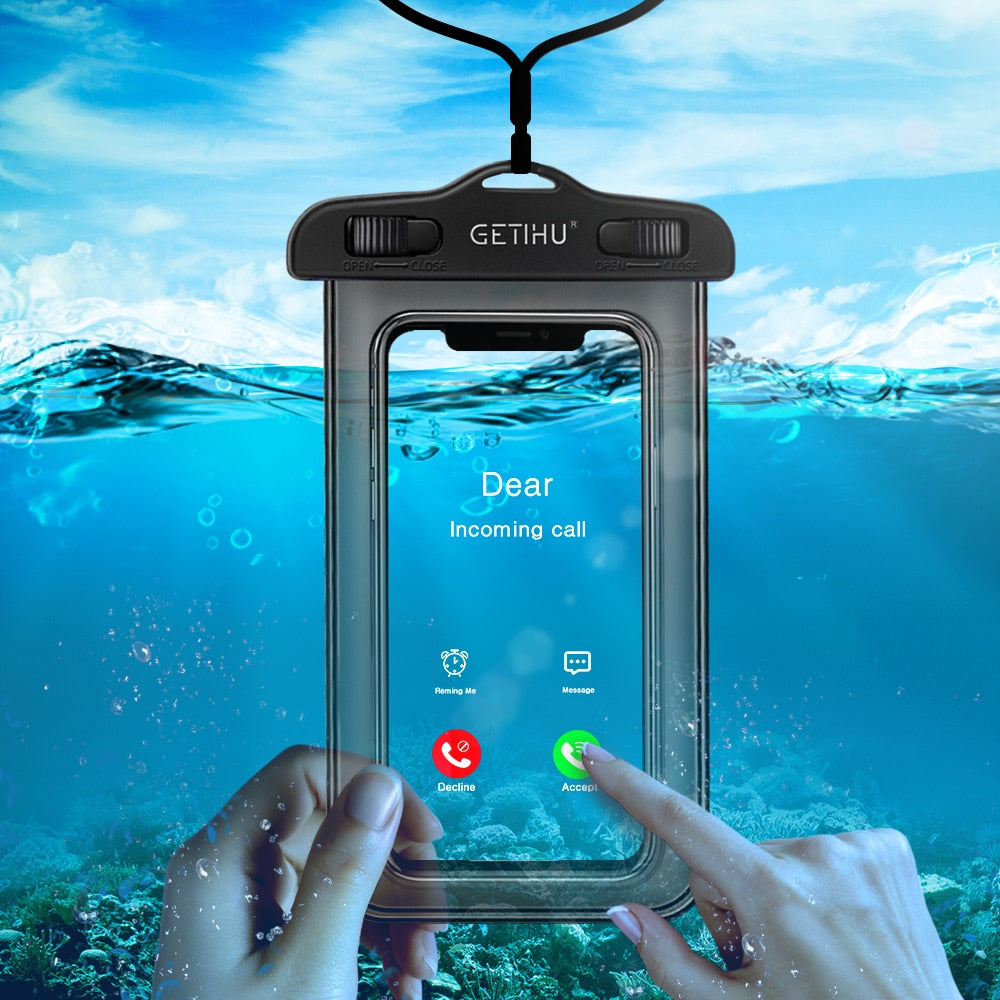 Universal Waterproof Case For iPhone X XS MAX 8 7 6 s 5