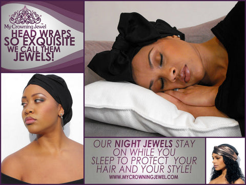 Nighttime Head Wraps