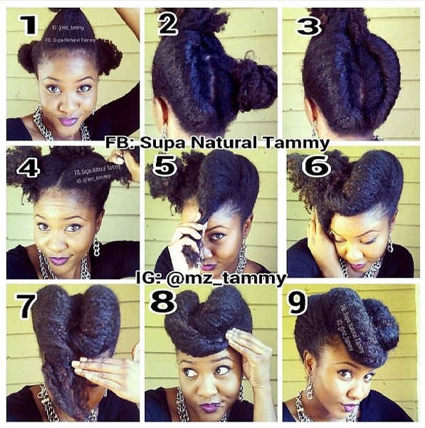 Natural hair pictorial from @mz_tammy on Instagram