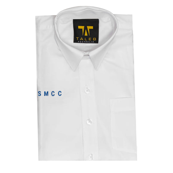 SMCC Y3-6 Short Sleeve White Shirt Emb
