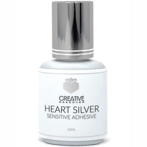 Heart Silver Sensitive Adhesive