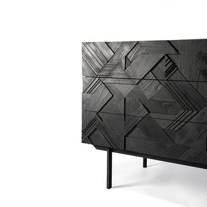 Teak Graphic black