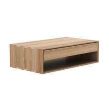 Oak Nordic coffee table