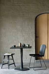 Oak Facette black dining chair