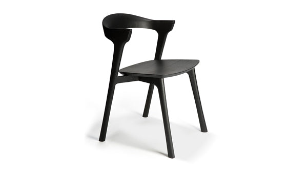 Bok Oak black dining chair
