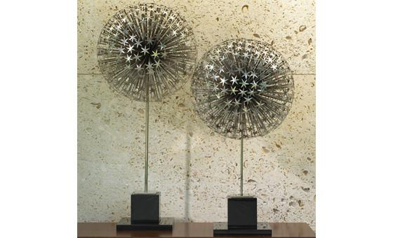 decorate in style with the dandelion sculpture from attica