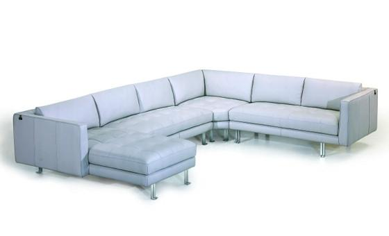 live in style with the foretti II sectional from attica
