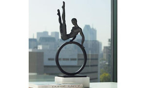 decorate in style with the gymnast man sculpture from attica
