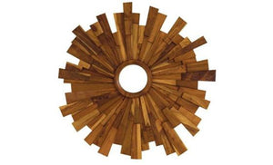 reflect your style with the industrial wooden mirror from attica