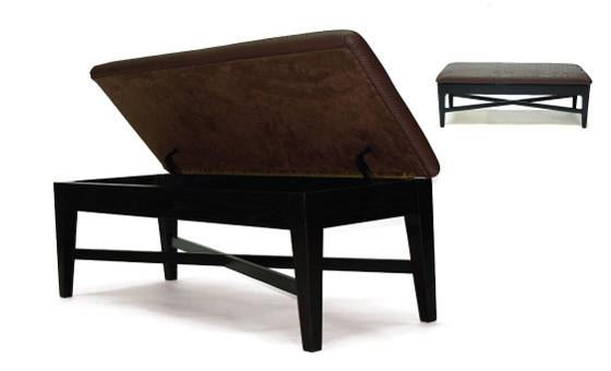 the jess storage ottoman from attica...made in canada