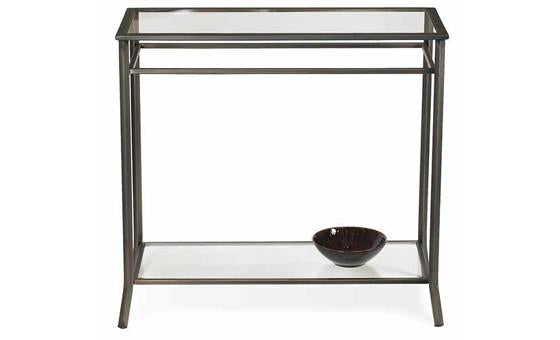 live in style with the metropolitan 2 console table