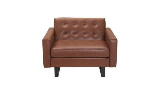 relax in style in the ray leather chair from attica