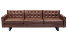 relax in style with the ray leather sofa from attica