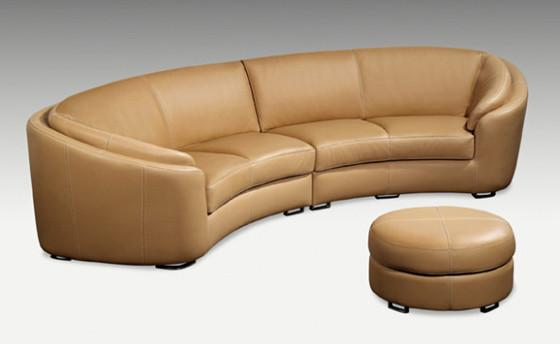 relax in style in the rusco leather sectional from attica