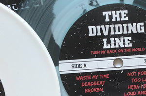 The Dividing Line Colored Vinyl Shipping Now.