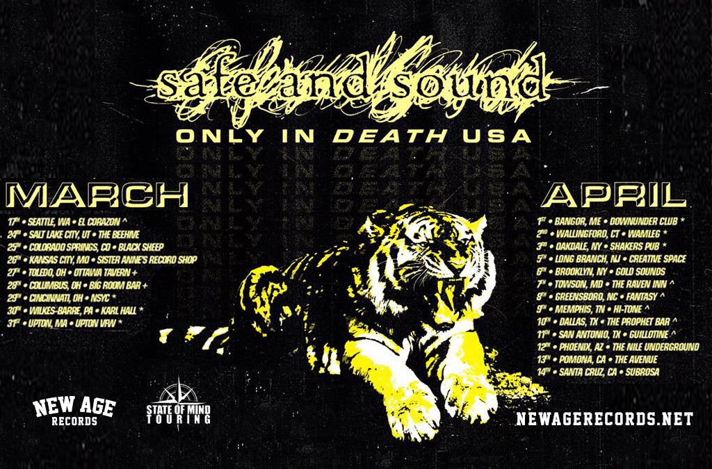 "Safe and Sound Announce ""Only in Death"" Spring U.S. Tour 2019"