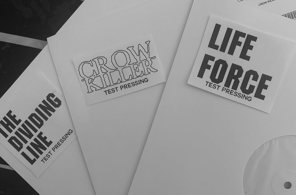 Raffle to win Life Force, The Dividing Line & Crow Killer Test Pressings