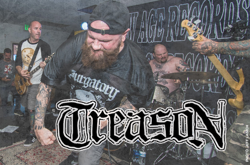 Treason to play Eville Fest May 19th. 2019