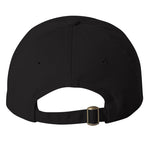 New Age Records College Dad Hat - Black