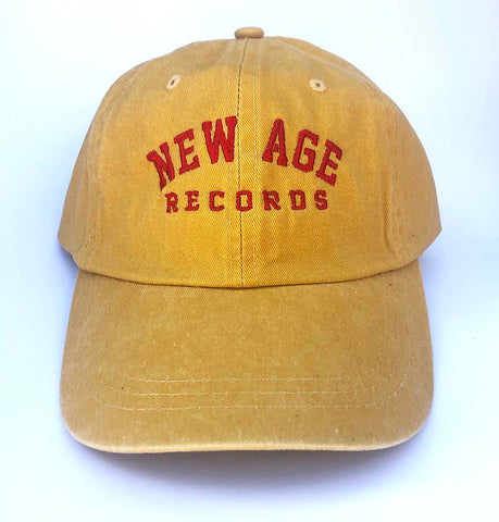 New Age Records College Dad Hat - Gold
