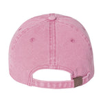 New Age Records College Dad Hat - Pink