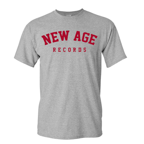 New Age Records Goes to College Gray T-Shirt