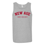 New Age Records Goes to College Unisex Gray Tank Top