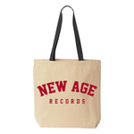 New Age Records Goes to College Tote Bag