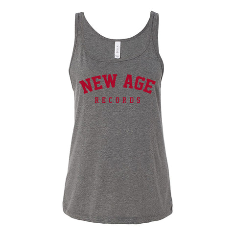 New Age Records Goes to College Women's Gray Tank Top