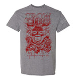 "Crow Killer ""Darkness Above All"" Gray T-Shirt"