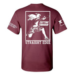 "Cutting Through ""Straight Edge"" T-Shirt"